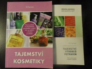 Knihy Tajemství kosmetiky aTajemství výrobců potravin