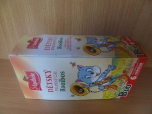 Roobios čaj pro děti naběžné pití