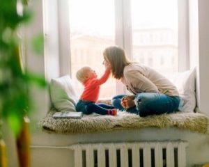 Hezký vztah maminky abatolete